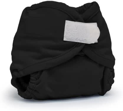 Rumparooz Newborn Cloth Diaper Cover Aplix, Phantom