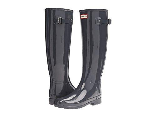 Hunter Women's Original Refined Gloss Dark Slate Boot by Hunter (Image #3)