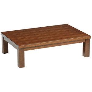国産座卓 ローテーブル 長方形120巾 新和風タイプ座卓テーブル 天然杢栓突板貼 宮前120 B074SFQ31T
