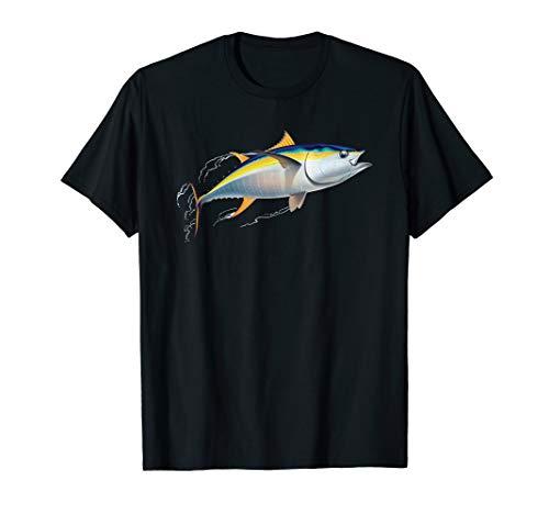 Yellowfin Tuna Fishing T-Shirt