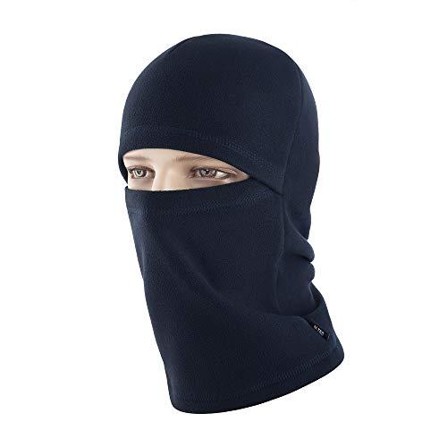 (M-Tac Coldweather Face Mask Winter Tactical Heavyweight Balaclava Fleece Hood (Dark Navy)