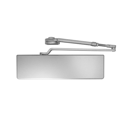 Dexter Commercial Hardware DCH1000-STD-FULL-HW/PA-ALUM, Heavy Duty Hold, Open arm Surface Door Closers with Full cover, 689/ALUM, Aluminum by Dexter Commercial Hardware