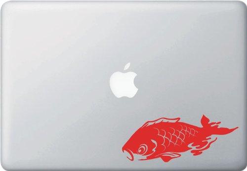 Swimming Koi Fish - Vinyl Decal Sticker (Red) - Copyright © Yadda-Yadda Design Co. - Koi Japan Quality High