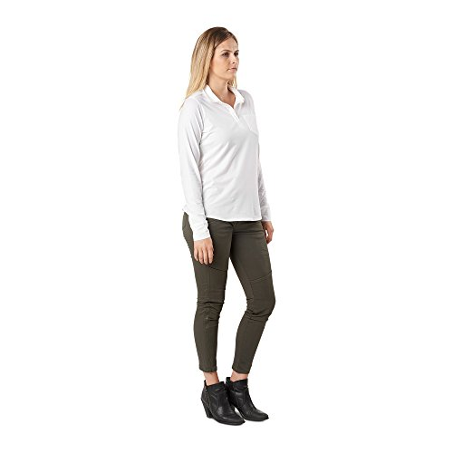 Top Enyo Polo Tactical mujer manga larga 5 11 blanco Series AqptWnwUI