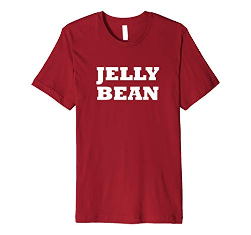 Jelly Bean Halloween Easy Costume Cute Funny Party T Shirt ()