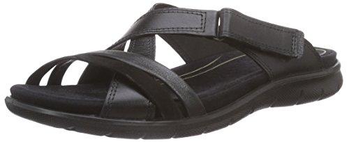 Ecco Footwear Womens Babett Slide Slip-On Loafer, Black, 41 EU/10-10.5 M US by ECCO