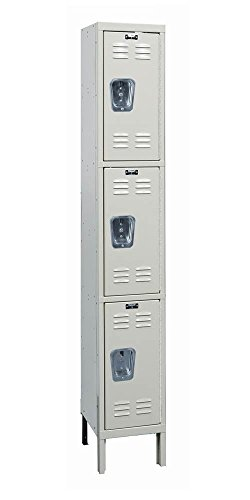 Hallowell U1258-3A-PT Premium Locker, 12