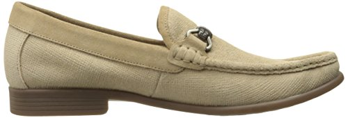 Stacy Adams Mens Kelby-moc Toe Slip-on Oxford Taupe