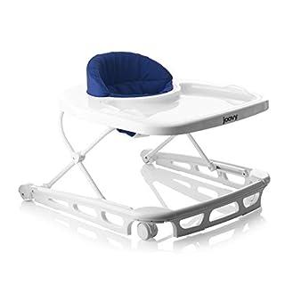 Joovy Spoon Walker, Adjustable Baby Walker, Activity Center, Blueberry