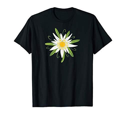Oktoberfest Shirt. Edelweiss, traditional flower with