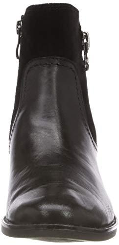 25319 Caprice 019 Noir 9 Botines 21 19 black Femme 9 Comb TqqBwEZg