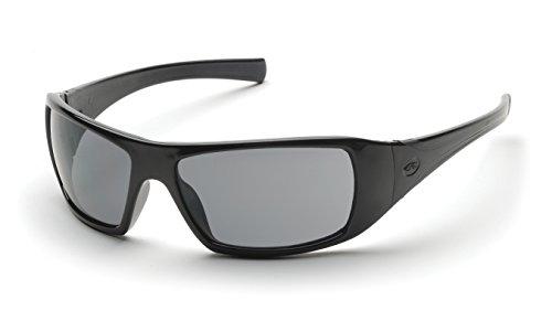 Pyramex Goliath Safety Eyewear, Gray Lens With Black Frame