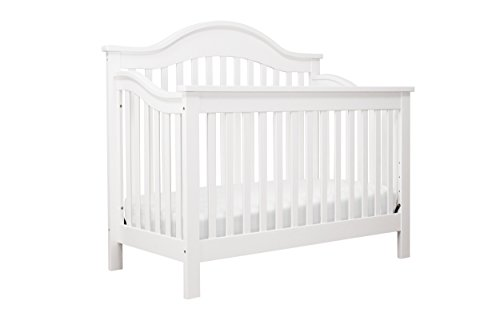 DaVinci Jayden 4-in-1 Convertible Crib, White - Antique White Crib