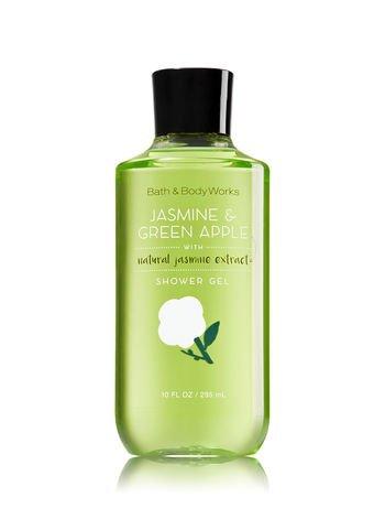 Bath & Body Works 10 Fl Oz Shower Gel, Jasmine & Green (10 Ounce Green Apple)