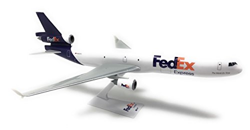 FedEx (05-Cur) MD-11 Airplane Miniature Model Snap Fit 1:200 Part# AMD-01100H-030 ()