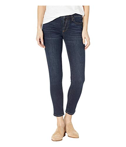 Miss Me Women's Button Up Skinny Jeans in Dark Blue Dark Blue 25 30 (Miss Me Dark Skinny Jeans)