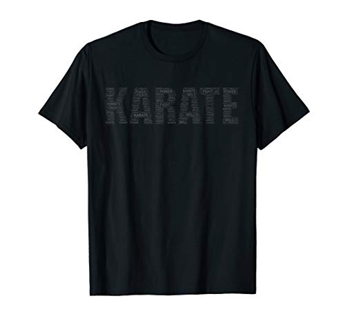 Subtle Karate Martial Arts T-Shirt