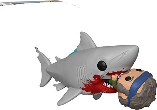 Funko Pop Movies 760 Jaws Eating Quint 2019 Summer Convention Exclusive