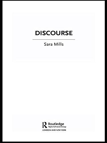 Discourse (The New Critical Idiom)