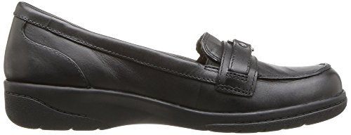 Clarks Womens Cheyn Marie Slip-on Loafer Svart Läder