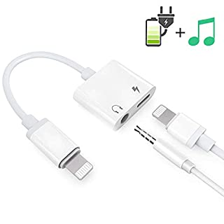 Headphone Adaptor for Phone Besmon Converter Adapter Charger Adapter Cable with 3.5mm Dongle Earphone Music & Charge