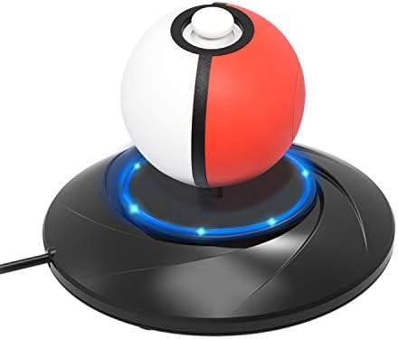 Soporte de carga para mando Pokeball Plus, estación de carga de ...