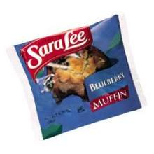 - Sara Lee Bakery Frozen Blueberry Muffins, 4.75-Ounce Individually Wrapped Muffins (Pack of 12)
