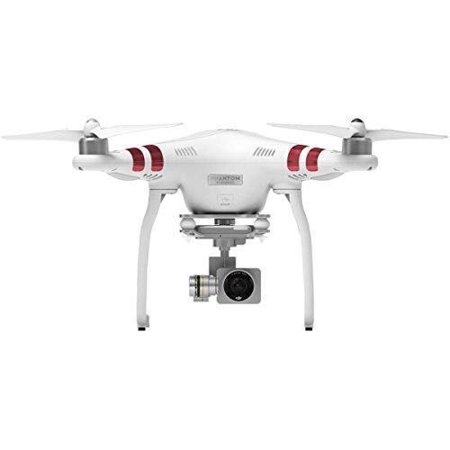 DJI Phantom 3 Standard Quadcopter Aircraft with 3-Axis Gimbal and 2.7k Camera - Bundle with Spare Battery