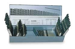 Jobber Drill Set, 118 PC, Metric, HSS