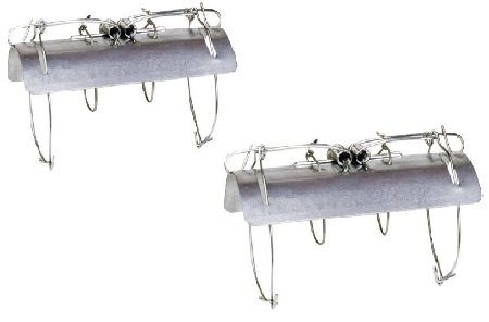 aleko-2ch639-tunnel-mole-trap-animal-trap-galvanized-steel-lot-of-2