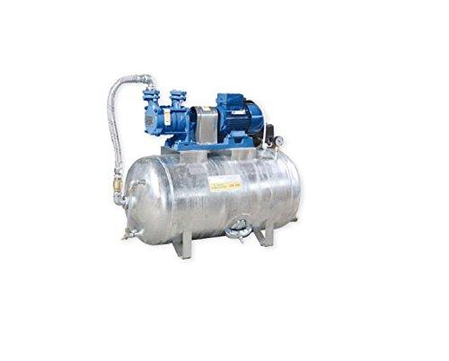 Turbo Hauswasserwerk 1,1 kW 400V 91 l/min 300L Druckbehälter verzinkt HJ13