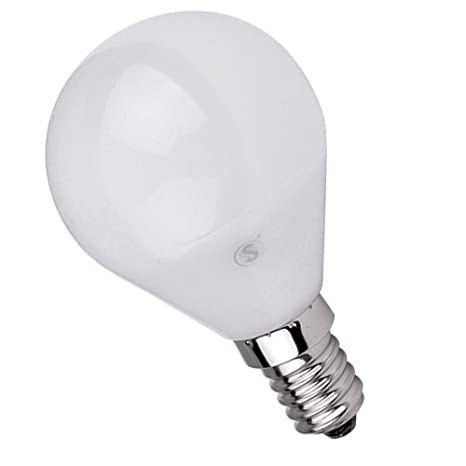 Lámpara Bombilla ESFERICA LED 5W E14,Color de Temperatura 6500K Fría ,Dimensiones: Ø45X80mm: Amazon.es: Hogar