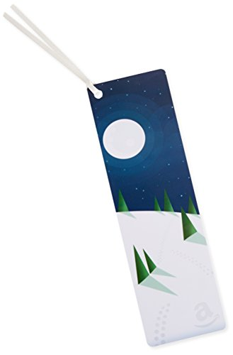 Amazon.com $25 Gift Card as a Bookmark (Winter Design)