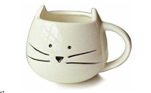 Itian® Taza de Porcelana (Gato)