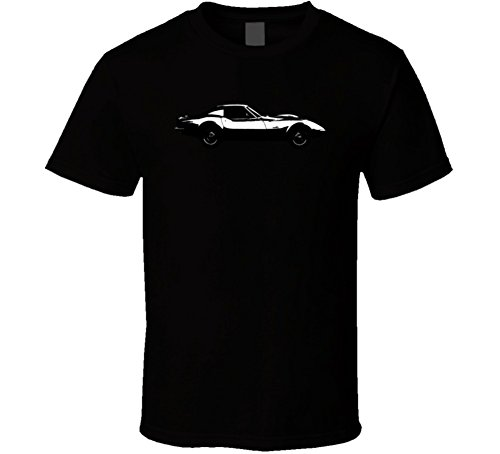 Chevrolet Corvette C3 Zr2 Stingray 7 Vintage Car Lover Driver Gift T Shirt 2XL Black by FanTstore (Image #1)