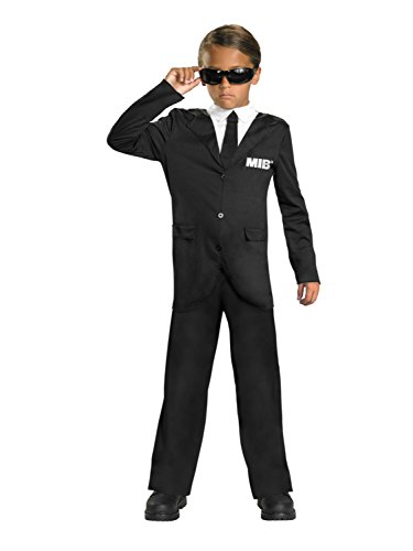 Men In Black 3 Boys Halloween Costume & Sunglasses