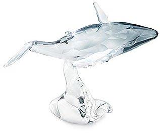 Swarovski SCS Young Whale Signature Piece * Designer Crystal Figurine