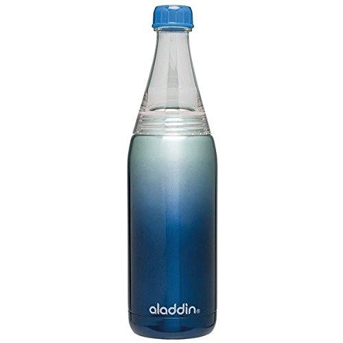 Aladdin Fresco Twist /& Go Hybrid 600ml Acciaio Inossidabile Blu Borraccia