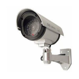 Esky Outdoor Fake Dummy Security Camera with Blinking Light