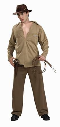 Disfraz de Indiana Jones musculoso para hombre  Amazon.es  Ropa y accesorios 2460d5b68ab