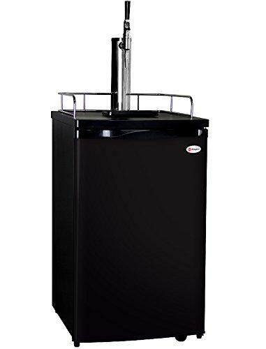 Kegco K199B-G Guinness Dispensing Kegerator with Black Cabinet and Door