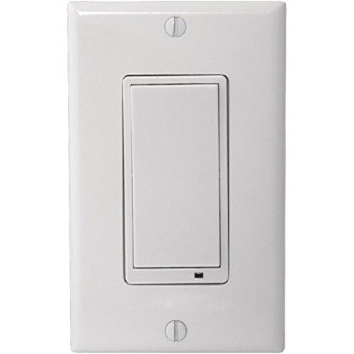 Linear WS15Z-1 Wireless Z-Wave 15-Amp Wall Switch 3-way White Home & Garden Improvement