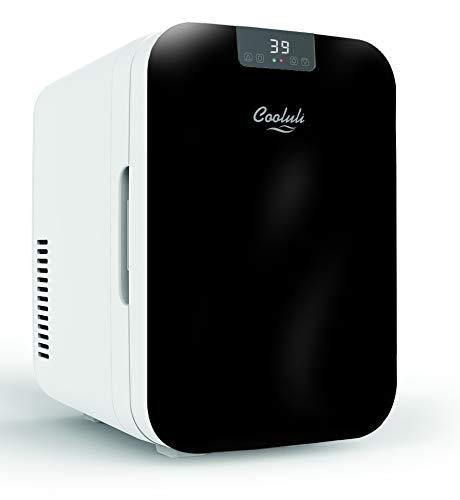 Cooluli Concord 20-liter Compact Cooler/Warmer Mini Fridge for Cars, Road Trips, Homes, Offices and Dorms