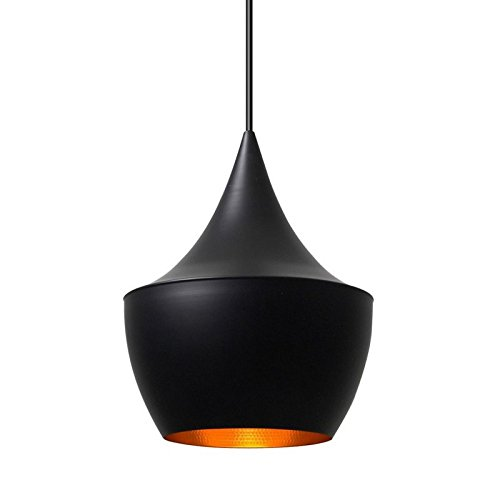 Amazon.com: Tom Dixon moderna luz colgante de grasa, 1 x 33 ...
