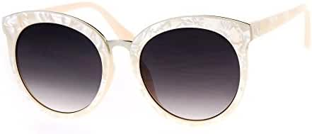 Double Frame Sunglasses Womens Round Butterfly Oversized Fashion Shades