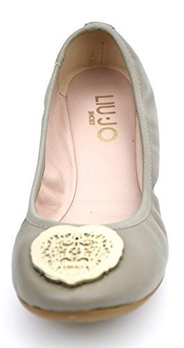 S13151 jo Liu Zapatos 36 Malto Mujer Malt Planos Para Isotta Malta Art Cuero P0006 Bailarina fwqw1xa