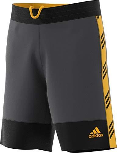 00560cfc46 Amazon.com : adidas Men's 66564 Pro Madness Shorts, Grey, Medium ...