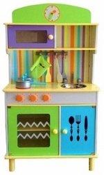 Enfants cuisine jeu en bois cuisine avec accessoires GREEN - cuisine Chef de cuisine MDF