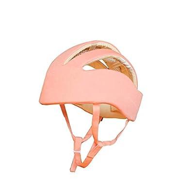 Pandady Infant Safety Helmet Babies Cotton Baby Toddler Anti Collision Cap Kids Sun Hats Soft Children Caps Bumper Bonnet Headguard Protective Hat