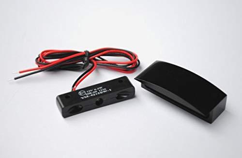 Shin Yo Micro de LED de matrí cula con carcasa de aluminio, color negro